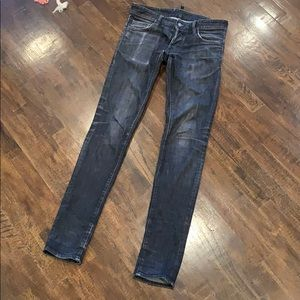 DSQUARED2 Skinny Black Jeans Made in Italy Sz 44